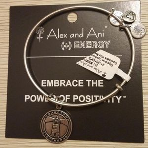 NWT ALEX and ANI Edgartown Lighthouse Bracelet